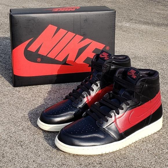 jordan 1 black with red stripe Online